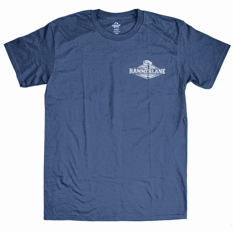 Breaking The Ice Hammer Lane T-Shirt Front