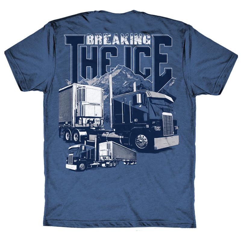 Breaking The Ice Hammer Lane T-Shirt Back