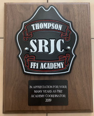 Custom Shield Plaque