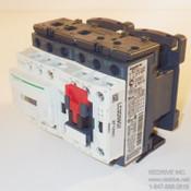 LC2D09G7 Schneider Electric Contactor Reversing 3-pole 20A 120VAC coil