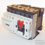 LC2D12G7 Schneider Electric Contactor Reversing 3-pole 25A 120VAC coil
