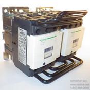 LC2D50G7 Schneider Electric Contactor Reversing 3-pole 70A 120VAC coil