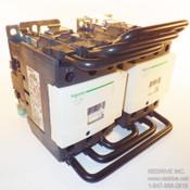 LC2D80G7 Schneider Electric Contactor Reversing 3-pole 125A 120V coil