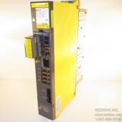 A06B-6096-H103 FANUC Servo Amplifier Module SVM1-40S FSSB alpha servo amp. Single axis A06B-6096 CNC AC servo drive.