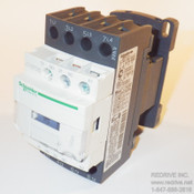 LC1DT25G7 Schneider Electric Contactor Non-Reversing 25A 120VAC coil