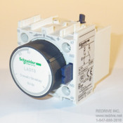 LADT0 Schneider Electric Time on delay contact block 0.1-3 sec.