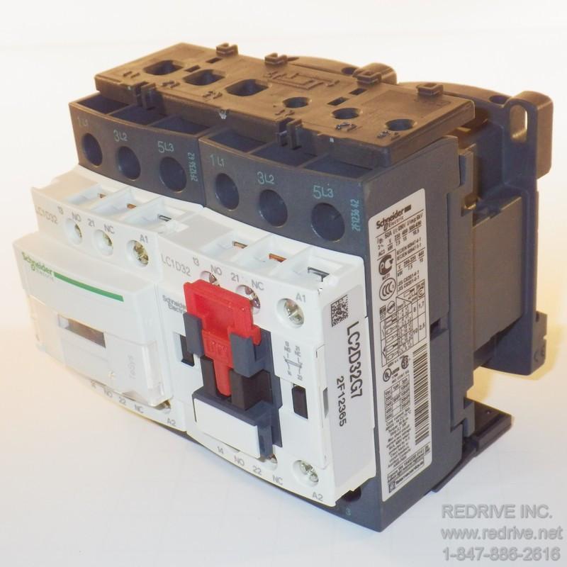 LC2D32U7 Reversing Contactor New
