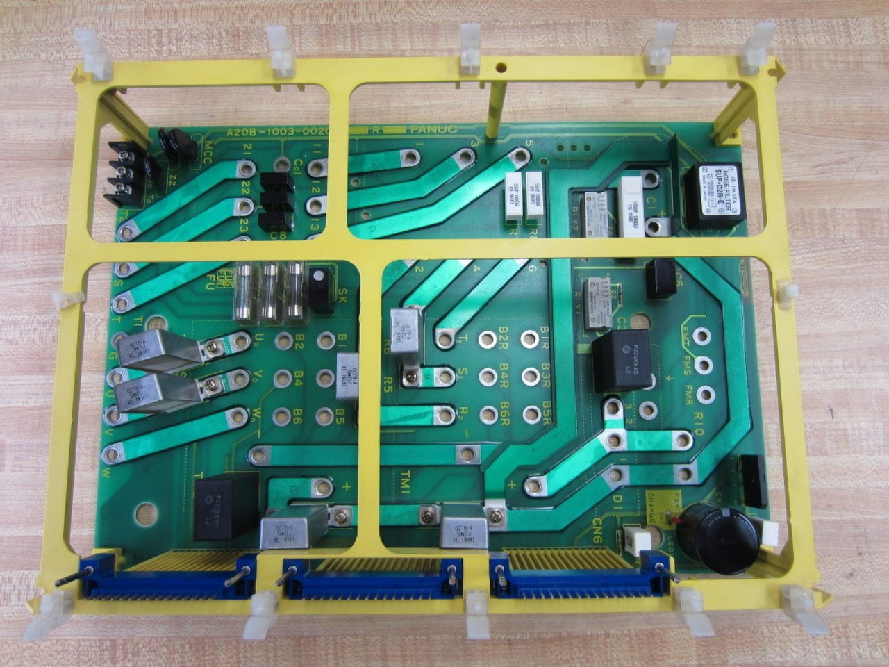 A20B-1003-0020 FANUC AC Spindle Wiring Circuit Board PCB Repair and  Exchange ServiceRedrive