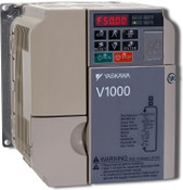 New CIMR-VUBA0018FAA Yaskawa V1000 AC DRIVE 240V 1-PH 18A 5HP VFD
