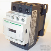 LC1D32G7 Schneider Electric Contactor Non-Reversing 50A 120VAC coil