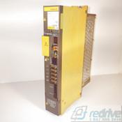 A06B-6096-H206 FANUC Servo Amplifier Module SVM2-40/40 FSSB alpha servo amp. Dual axis A06B-6096 CNC AC servo drive.