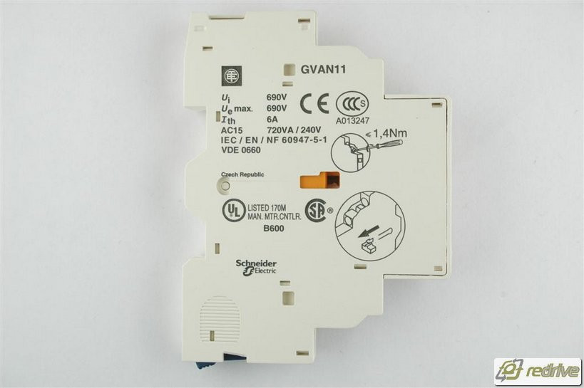Brand New Side Mount Schneider Electric GVAN11 Auxiliary Contact Block
