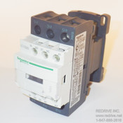 LC1D25G7 Schneider Electric Contactor Non-Reversing 40A 120VAC coil