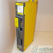 A06B-6096-H203 FANUC Servo Amplifier Module SVM2-20/20 FSSB alpha servo amp. Dual axis A06B-6096 CNC AC servo drive.