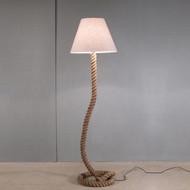 Modern Home Nautical Pier Rope Floor Lamp