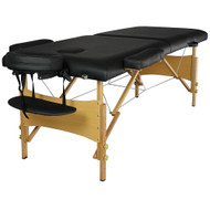 Serenity Deluxe Portable Folding Massage Table w/5 Bonus Items