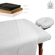 Royal Massage 100% Microfiber Massage Table Sheet Set