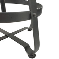 Turner Retro Contemporary Steel/Wood Barstool