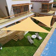 Modern Home Sail Shade Triangle (11.5' Sides)