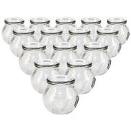 Royal Massage Fire Glass Cupping Jar