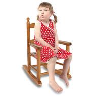 Modern Home Kids Wooden Rocking Chair