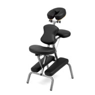 Ataraxia Deluxe Portable Folding Massage Chair w/Carry Case & Strap - Professional Grade Travel Tattoo/Massage/Spa Chair