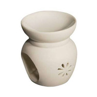 Royal Massage Tea Light Aromatherapy Oil Burner - Flower Pot