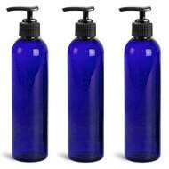 Royal Massage 8oz Empty Massage Oil Bottle with Pump
