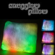 Ultra Soft LED Night Light Pillow with Auto Shut-Off