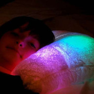Ultra Soft LED Night Light Pillow with Auto Shut-Off