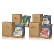 Royal Massage Natural Sea Salt Mineral Massage Scrubbing Salts (80g packets x 40) - Set of 4 Boxes