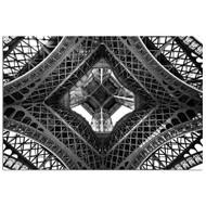Modern Home Ultra High Resolution Tempered Glass Wall Art - Paris Eiffel Tower 1