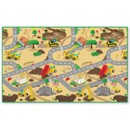 PlayScapes Portable Instant Children's Floor Play Mat - Construction