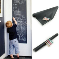 "Modern Home Adhesive Blackboard Wallpaper Stickers - 17.7"" x 79"" - Ships from USA"