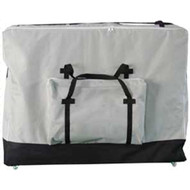 Royal Massage Standard Black Universal Massage Table Carry Case w/Wheels - Gray