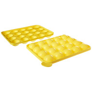 Cake Pops Instant Silicone Baking Pan Set - Complete Easy-to-Use Food Grade Silicone Cake Batter Tray