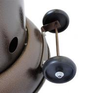 Lava Heat Italia LHI-OPUS-51BTU-HB-LP Opus Propane Patio Lava Heater, 51000 BTU, Bronze