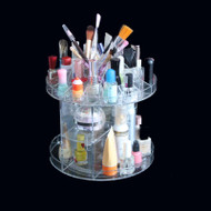 "Deluxe Rotating Acrylic Cosmetic/Makeup Organizer 9.9"" x 9.5"""