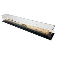 OnDisplay Deluxe Wall Mounted/Tabletop UV-Protected Baseball Bat Display Case