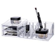 OnDisplay Bea Deluxe Acrylic Cosmetic/Jewelry Organization Tray