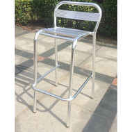 Modern Home Stackable Aluminum Indoor/Outdoor Bar Stool