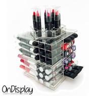 OnDisplay Siena Rotating Acrylic Cosmetic/Makeup Organizer