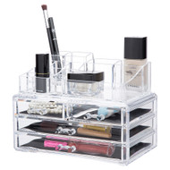 OnDisplay Candice Tiered Acrylic Cosmetic/Jewelry Organizer