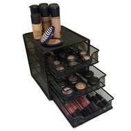 OnDisplay 3 Tier Steel Cosmetic/Makeup Organizer