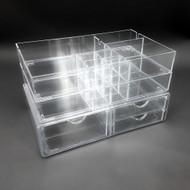 OnDisplay Zora Deluxe Tiered Acrylic Cosmetic/Jewelry Organizer