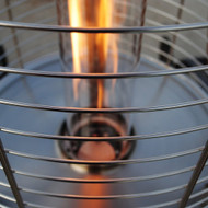 Lava Heat Italia LHI-OPUS-51BTU-SS-LP Opus Propane Patio Heater-51000 BTU - Stainless Steel