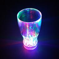 Set of 6 Modern Home LED Blinking Light 20oz Soda/Beer Glass