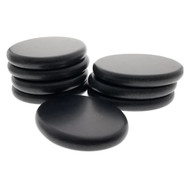 Royal Massage 8pc X-Large Basalt Hot Stone Set C - Essential Massage Stones/Hot Rocks Set for Professional or Home Spa - Relaxing/Healing/Pain Relief