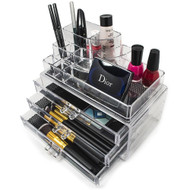 OnDisplay Michelle Tiered Acrylic Cosmetic/Jewelry Organizer