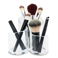 OnDisplay Aurora Acrylic Cosmetics/Brush/Desktop Organizer
